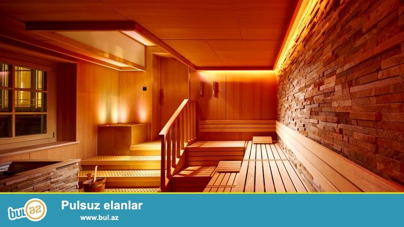 BİLLUR İNŞAAT şirkəti sizə taxta materiallarından hazırlanan rus hamamları və fin saunaları təklif edir...