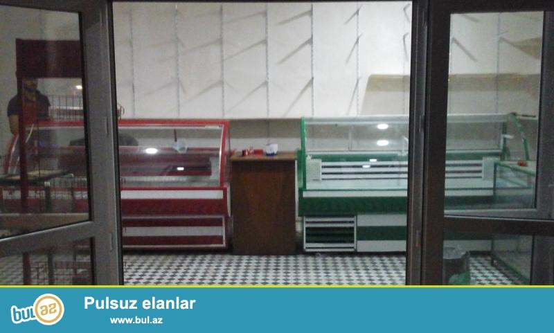 2 ədəd yeni vəziyyətdə mağaza üçün vitrin soyuducusu satıram...
