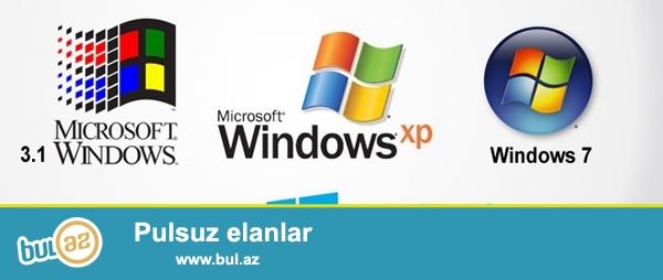 Windows Xp/7/8.10 yazilmasi, antivirus ,programlarin yazilmasi...