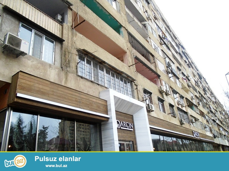 Yasamal rayonu,Z.Xelilov kucesinde,macro marketi yaxinliginda 9 mertebeli eksprimental layiheli binanin 7 mertebesinde 75 kv...