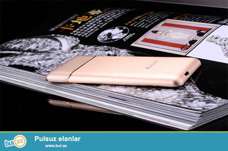 Yeni.Çatdırılma pulsuz<br /> Anica A6 Blutuzlu ultra nazik mini telefon<br /> Model:A6<br /> Blutuz:Var<br /> Nömrə sayı: 1<br /> Rənglər:Qızılgül Qızılı<br /> Material:plastik və metal<br /> Audio:MP3/WAV/AMR/AWB<br /> Video:3gp/mpeg4<br /> Şəkil formatı:JPEG/BMP/GIF/PNG/GIF<br /> E-book format:TXT/CHM/DOC/HTML<br /> Fm radio:Var<br /> Dillər:English,Russian, Spanish,Portuguese,French, Italian, Dutch, German,<br /> Sms və MMS:VAR<br /> Aksesuarlar:Usb kabel Nauşnik