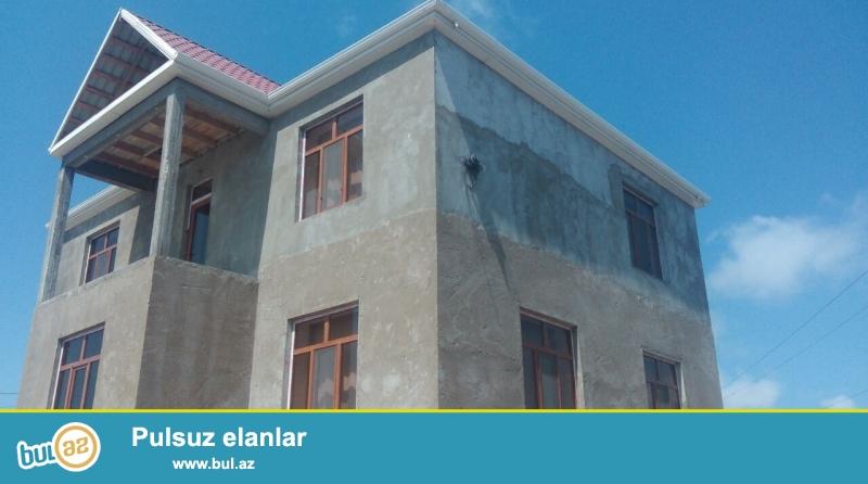Sabuncu rayonu Savalan qəsəbəsində 4 sot torpaq sahəsində ümumi sahəsi 330 kv...