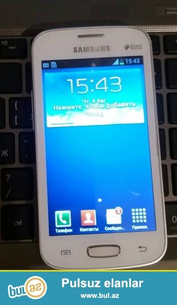 Samsung GT S7262 satiram ela veziyyetdedir hec bir problemi yoxdur...