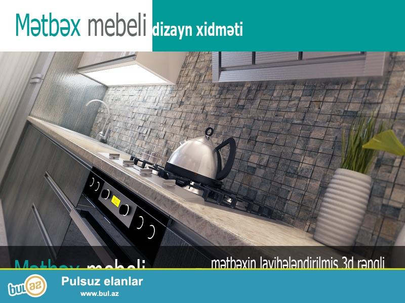 Metbex mebeli.35 AZN-dən başlayan qiymətlərlə dizayn xidmətləri...