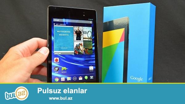 Nexus 7 (2013) <br /> Ekran<br /> 7,02 inç 1920x1200 HD ekran (323 ppi) <br /> 1080p HD IPS <br /> Çizilmeye karşı dayanıklı Corning® cam <br /> Boyut114 x 200 x 8,65 mm <br /> Ağırlık290 g <br /> Kamera<br /> 1,2 MP öne bakan, sabit odaklı <br /> 5 MP arkaya bakan, otomatik odaklı <br /> Ses<br /> Stereo hoparlörler <br /> Fraunhofer Cingo™ sanal surround ses* <br /> 3,5 mm ses konnektörü <br /> Kablosuz<br /> Çift bantlı Kablosuz (2,4G/5G) 802...