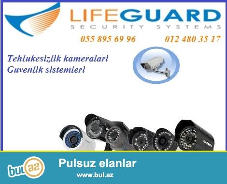 Tehlukesizlik kameralari 055 895 69 96<br /> <br /> Faydali xususiyyetleri ve imkanlari ile IP nezaret  kameralari ustunlukleri ile secilir...