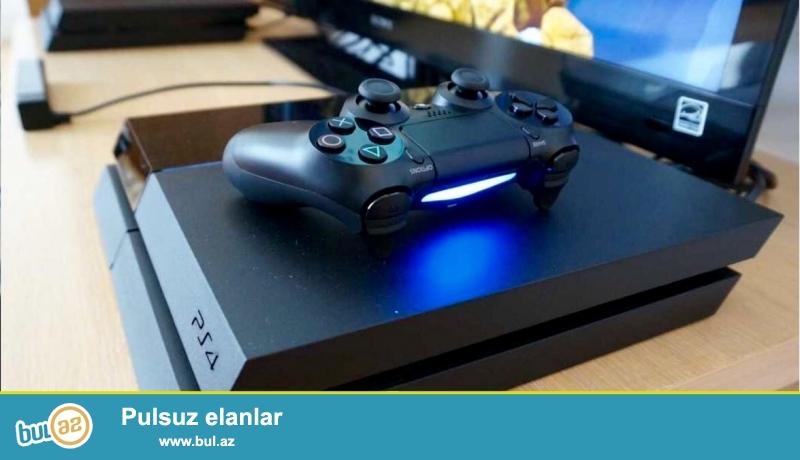 PS4 Yeni. 2eded pult , 1 eded PES 2015 disk.<br /> <br /> Qiymeti 800Azn<br /> <br /> Ciddi alana endrim edilecek...