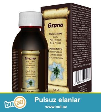 Grano Black Seed Oil - 100 % təmiz ve soyuq sıxılma yolu ile alinmış QARA ZİRƏ YAGI...