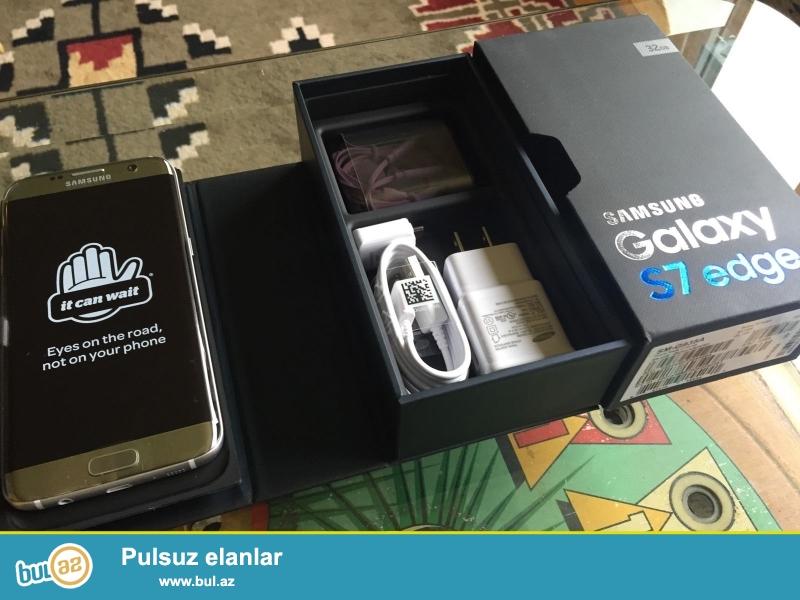 Samsung Galaxy S7 Edge.<br /> .<br /> istifadəçi kitabçası:<br /> <br /> Brand Samsung<br /> Model Galaxy S7<br /> <br />  Daha ətraflı məlumat üçün bizimlə əlaqə saxlayın<br /> <br />  Skype: Unbetable...