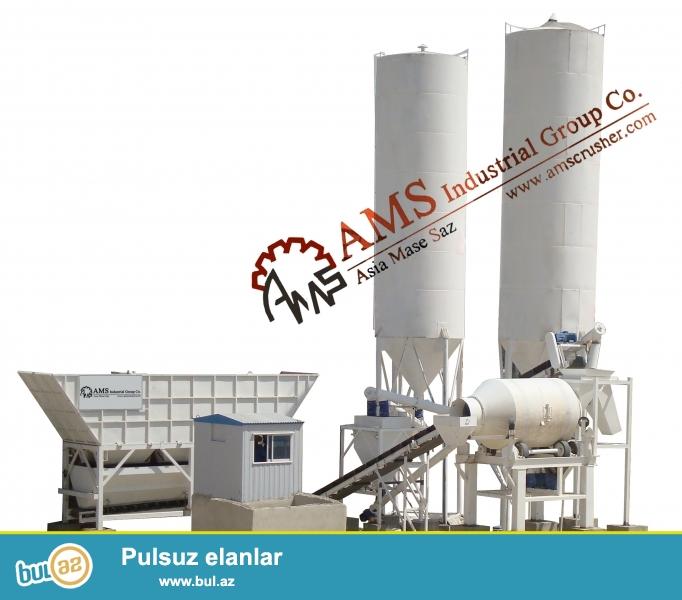 <br /> Бетонные заводы: Производительность от 40 до 80 м³/ч (мокрые)<br /> Емкость 70 до 140 м³/ч (сухой)<br /> Станционарные Бетоносместительные установки (серия AMS-BP-D и AMS-BP-L)<br /> Бетоносмесительные устоновки широко используют в строительстве различных направленний и пользуются хорошей репутацией, как среди китайских потребителей, так и среди зарубежных покупателей...