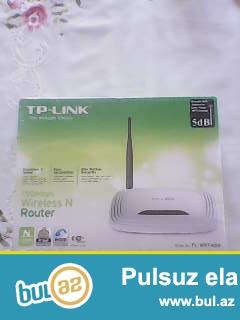 Marka- TP-LINK . <br /> Madel- TL-WR740N.<br /> 4 Girishlidir...