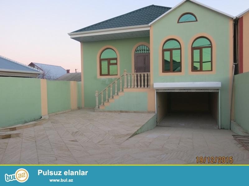 #20#<br /> Masazirda 10 daw kursulu 4 otaqli heyet evi satilir <br /> Tecili olaraq Masazirda  142-N  mawrutun kecidyi yolun  ustunde 2...