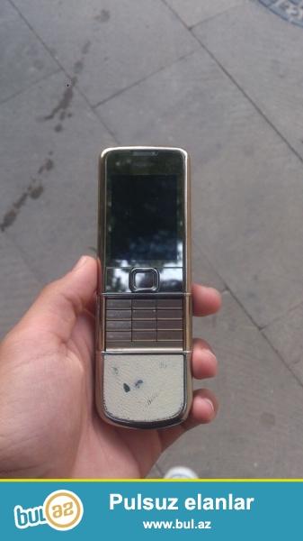 Nokia 8800 saphire gold. tecili satilir deye bele ucuz satiram.