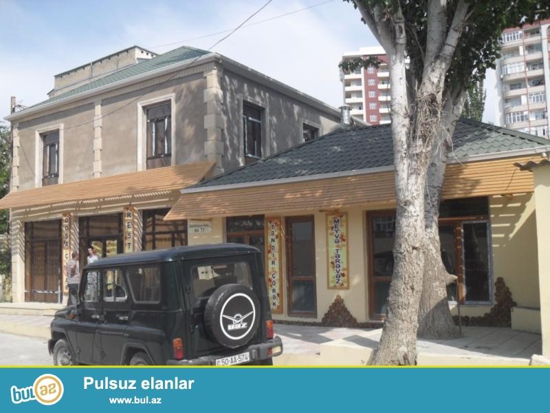 2 mərtəbəli həyət evi satılır 1-ci mərtəbəsi obyekt ...