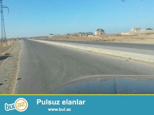 Nizami rayonu,Çobanzadə küçəsindən-Babək prospektinə çıxan yolda, 41 sot,özəl torpaq satılır...