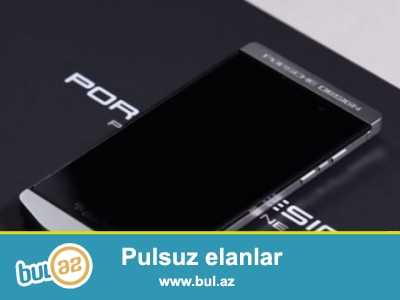 Blackberry Porsche design Touch zemanetle satilir ideal...