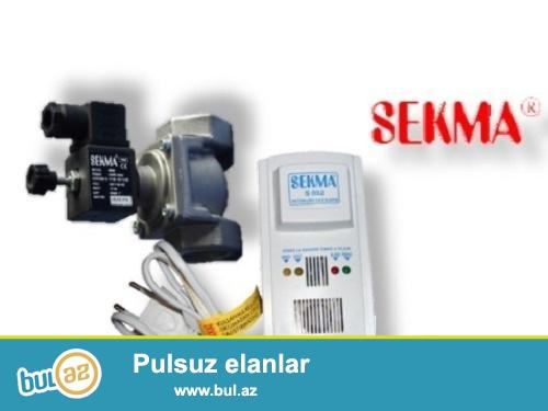 qaz dedektoru (selenoid + dedektor) dest - 21 AZN