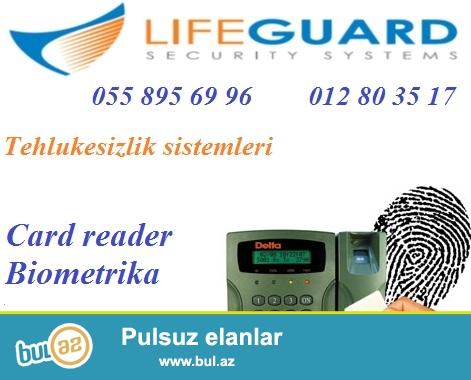 Kartli kecid+Barmaq izi ile kecid+Uzle tanima / 055 895 69 96<br /> <br /> Is yerinde nizam-intizami ve tehlukesizliyin eyni anda qorumaq ucun en mukemmel vasitelerden biri – biometriksistemdir...