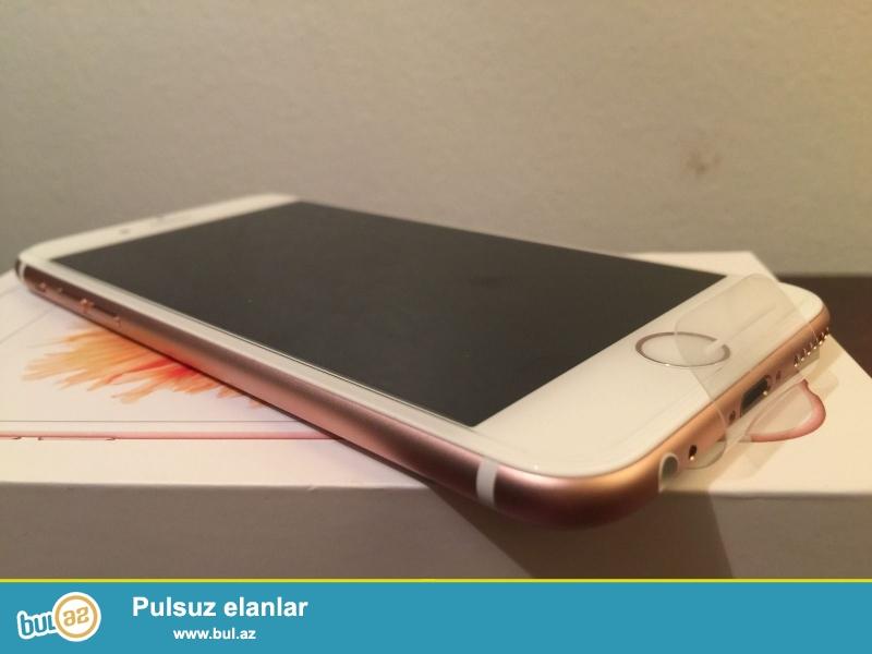 Apple iPhone 6S 64 GB çəhrayı qızıl əla vəziyyətdədir, gəlir ilə 12 ay beynəlxalq zəmanət və qaytarılması 90 gün...