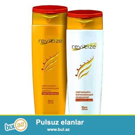 Revitize şampun, balzam seriyası : Saç tökülməsinin,qırılmasının qarşısını alır...