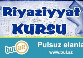 Riyaziyyat fenni uzre evde uwaq hazirlayiram. Dersler azerbaycan dilinde keciril...