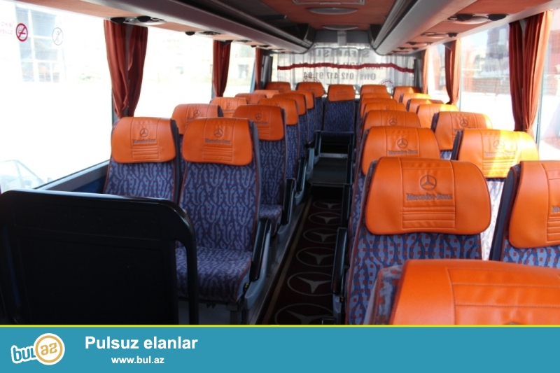 VİP avtobusların icarəsi, Nəqliyyatın kirayəsi, yeni model avtobusların icarəsi...
