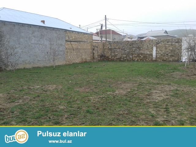 Abşeron rayonu Hökmeli qesebesinde 3 sot torpaq sahesi satilir...