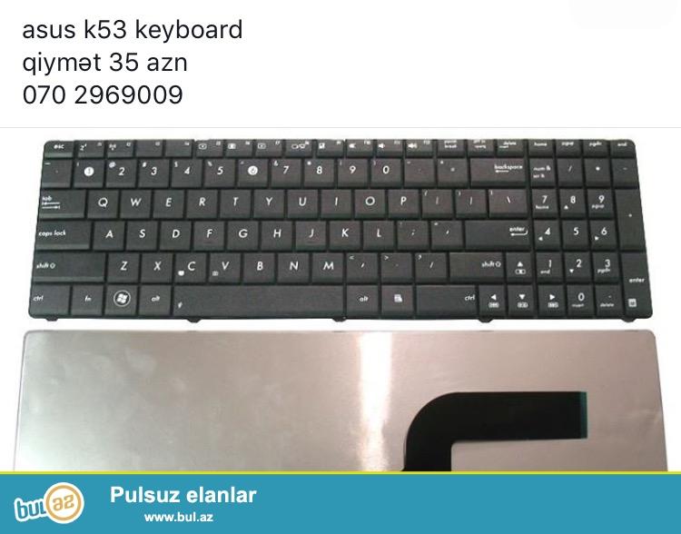 Əlavə olaraq satışda batareyalar,adapter,klaviatura...
