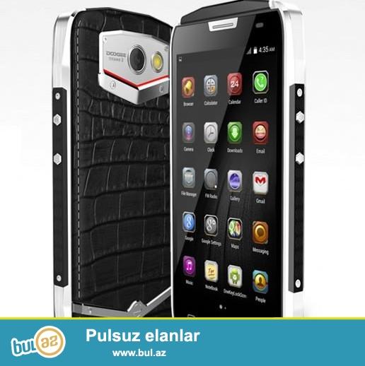 Yeni.Sukeçirmez telefon<br /> Çatdırılma pylsuz<br /> <br /> Əsas Xüsusiyyətləri<br /> Brand DOOGEE<br /> Model TITANS 2 / DG700<br /> Rəng Qara<br /> Növü Titan<br /> Ekran Touch Ekran<br /> Operating System Android 5...
