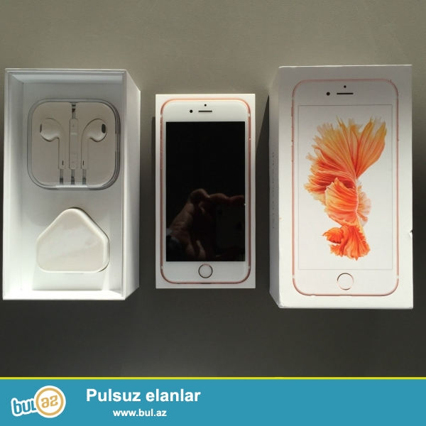 Apple iPhone 6S 64GB Rose Gold oxunuş Smartphone Original<br />