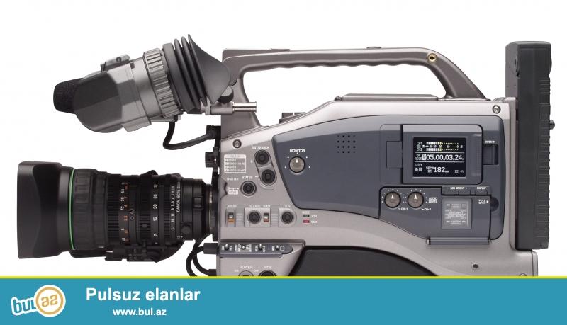 Kamera cox az islenilib. tezeliyden mende olub cox ela veziyetdedir DVC ve mini DVC kasetleri qebul edir ...