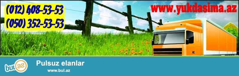 Yük taksisi Bakı şəhərində və həmçinin respublika ərazisində kiçik və iri miqyaslı yük daşımalarını həyata keçirir.