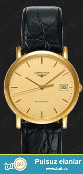 Longines 750.18k gold automatic. presence kolleksiyasindan kodu - ( l4...