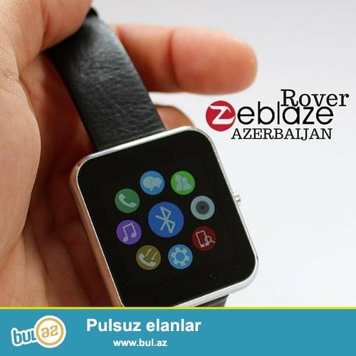 ⌚ - Zeblaze Rover<br /> - Cins - Unisex<br /> - Rəng: Gümüşü, Qızılı və Qara<br /> - Display: 1...