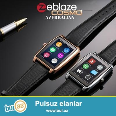 ⌚ - Zeblaze Cosmo<br /> - Cins - Kişi<br /> - Rəng: Qara və Gümüşü<br /> - Display: 1...