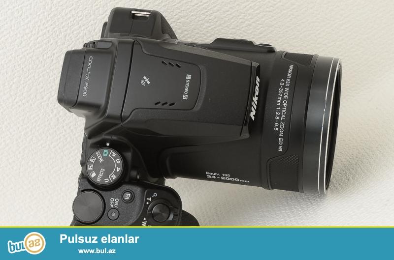 Bu rəqəmsal fotoaparat güclü nəzarət var DSLR kimi nəzərdə tutulub...