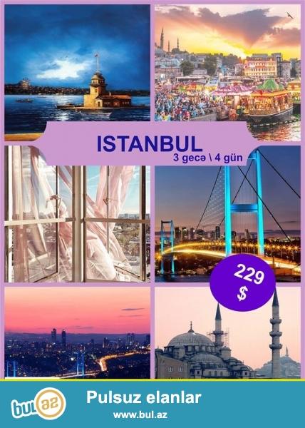 RR Travel <br /> Əziz Turistər!<br /> <br /> R&R Travel Company Sizlərə octyabr ayında İstanbul şəhərinə sərfəli qiymətlərlə turpaketlər təklif edir ! Turpaketlərin qiyməti cəmi 229 $-dan başlayır...