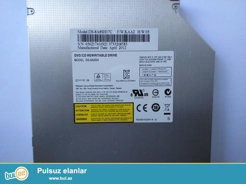 Disk oxudan DVD RW Ishleyir. Problemi yoxdur. Asus X53E -nindir...