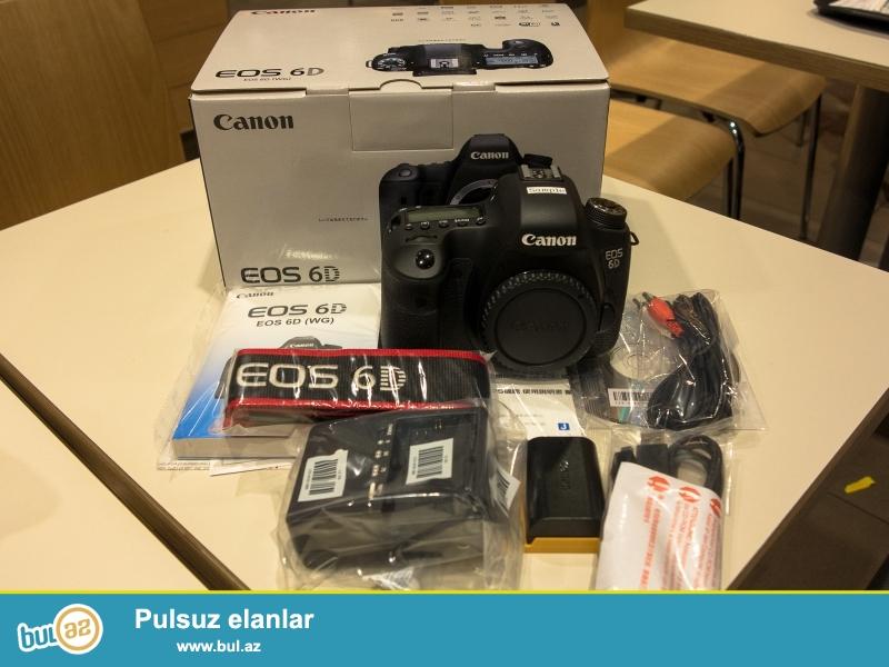 Canon EOS 6D 20.2 MP Digital SLR Camera<br /> <br /> 2 Units Pulsuz üçün 1 almaq Almaq<br /> <br /> Orijinal və 100% orijinal və 12 ay və hesablanması bir zəmanəti ilə möhürlənmiş qutusuna aksesuarlar tam dəsti ilə gəlir...