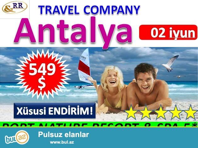 Əziz turistlər !!!!!! Yeni AKSİYA !!!!!!<br /> Cəmi 549 USD və HƏR ŞEY DAXİL!<br /> 02...