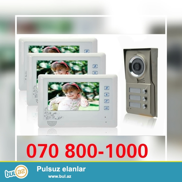 Kamera domofon acces kontrollar kondisioner ve krosnu antennalarin satiwi ve servisi . Melumat ucun...