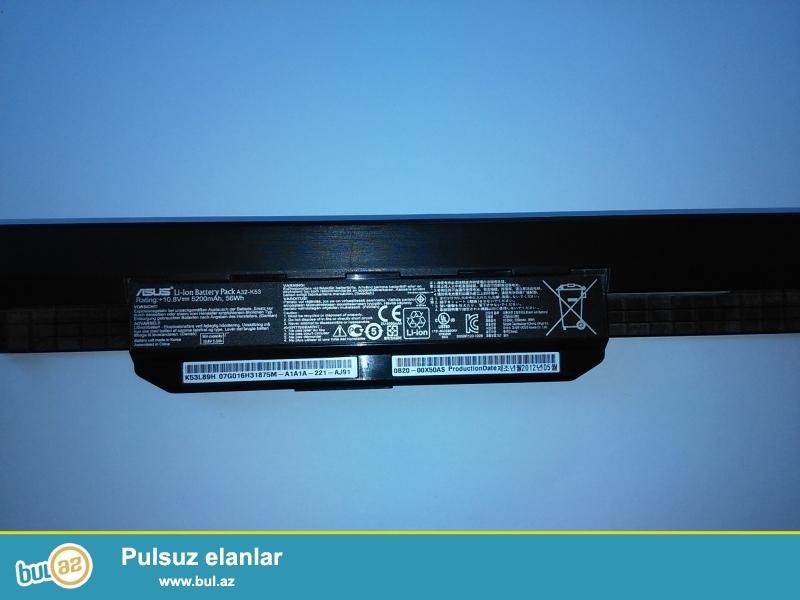 Batareya yaxsi elektrik tutumuna malikdir. Asus X53E batareyasıdır...