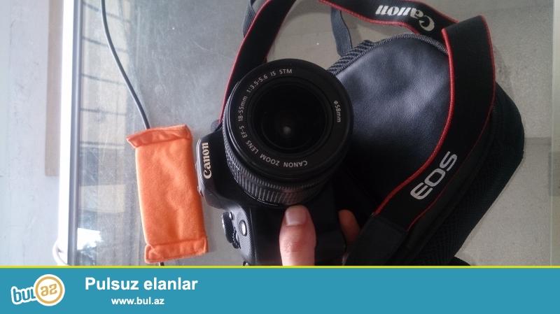 Canon eos 100 d satilir<br /> 2 ayin fotoaparatidi<br /> Senedleri ve aksesuarlarida var