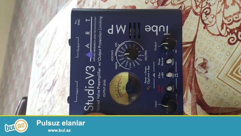STUDIO V3 Mixer (Səs gücləndirici, Səs təmizləyici, üzərində hazır effektlər var) ...