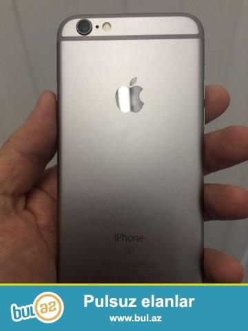 Salam ipohone 6s satilir tecili olaraq 1 il zamanetle 350 azn bu telfon reflesdi californiyadan gelib orginalin bire biridi grey ve gold rengi qalib...