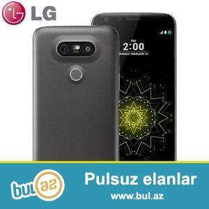LG G5 Titan H860. İki həftə işlənib. Heç bir problemi yoxdur...