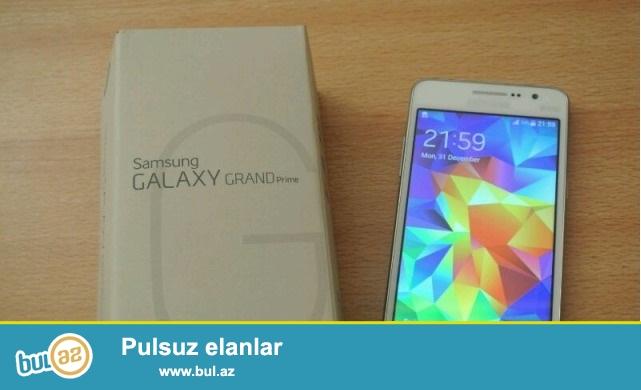 Samsung Galaxy Grand Prime satılır.Hər Rəngi Var.