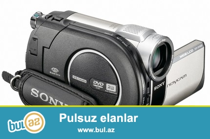Sony Hyndicam videocamerasi satilir.Eyni sekilde gorduyunuz kameradandi...