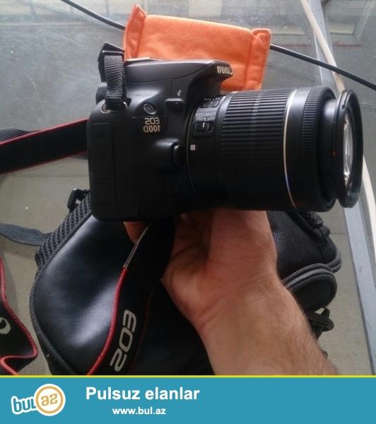 100 d eos canon aparati satiram her seyi var ustunde 2 ayin aparatidi fikri ciddi olan şexsler whatsapla veya zeng ede bilerler<br /> Sekiller canona mexsusdur