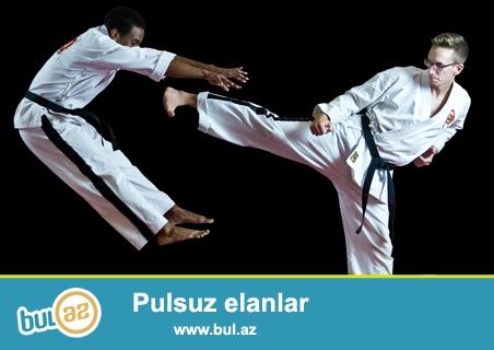 Sizi karate və qarışıq döyüş, özünü müdafiə və psixoloji hazırlıq məşqlərinə dəvət edirik...